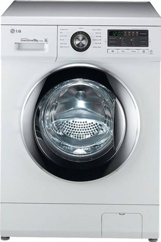 LG 8 kg Fully Automatic Front Load Washing Machine (FH496TDL23) Image