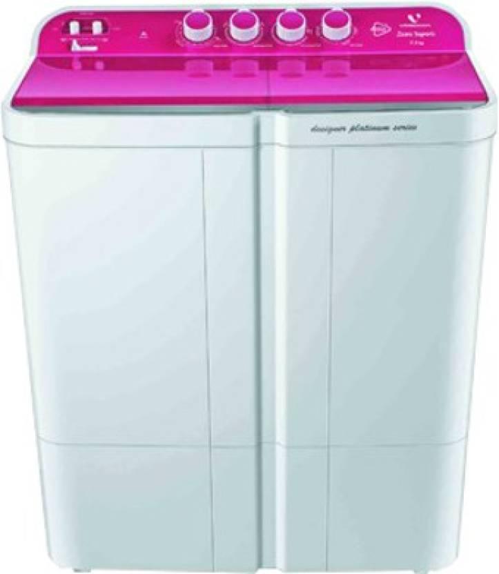 Videocon 7.5 kg Semi Automatic Top Load Washing Machine (WMVS75Z14-LPA) Image