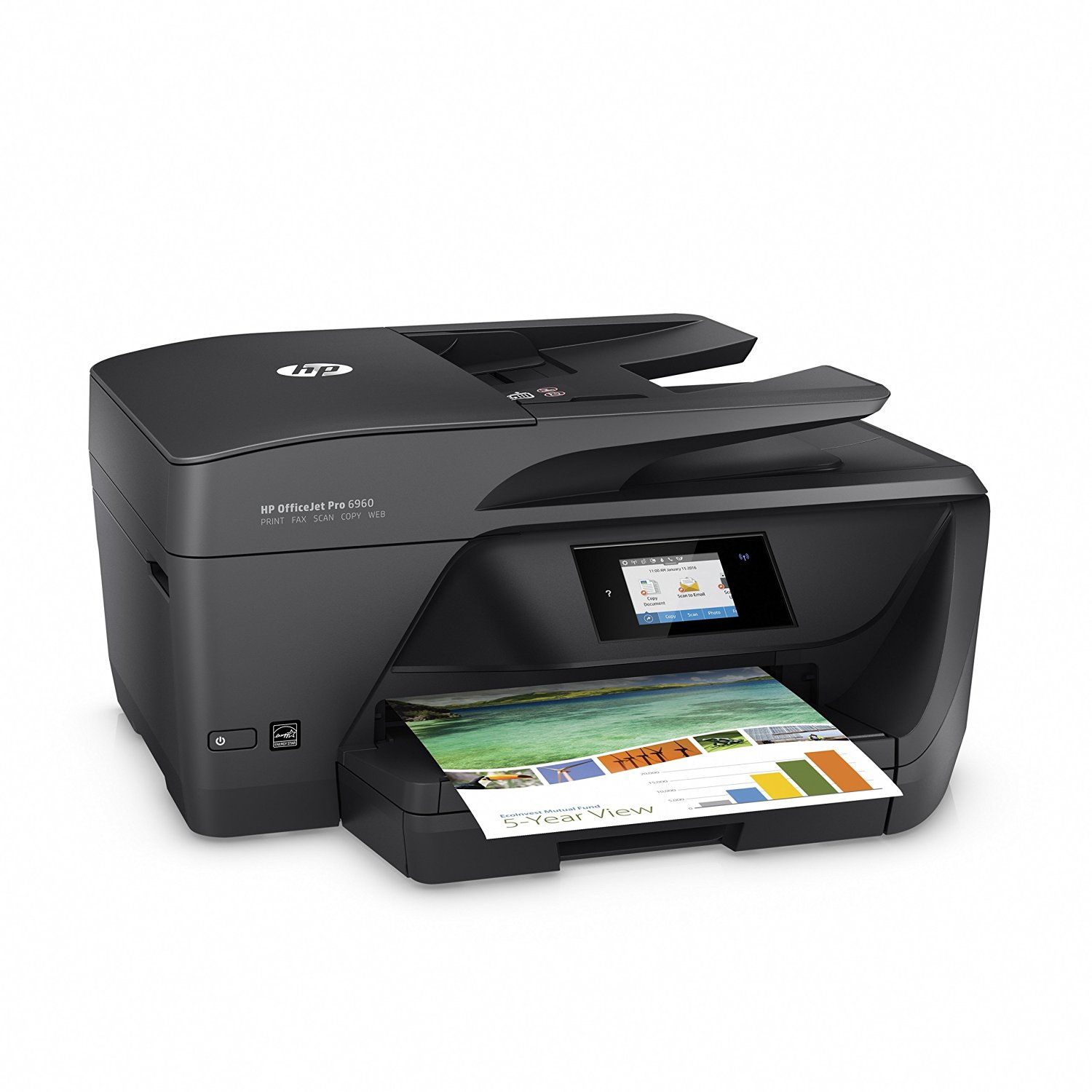 HP OfficeJet Pro 6960 All-in-One Printer Image