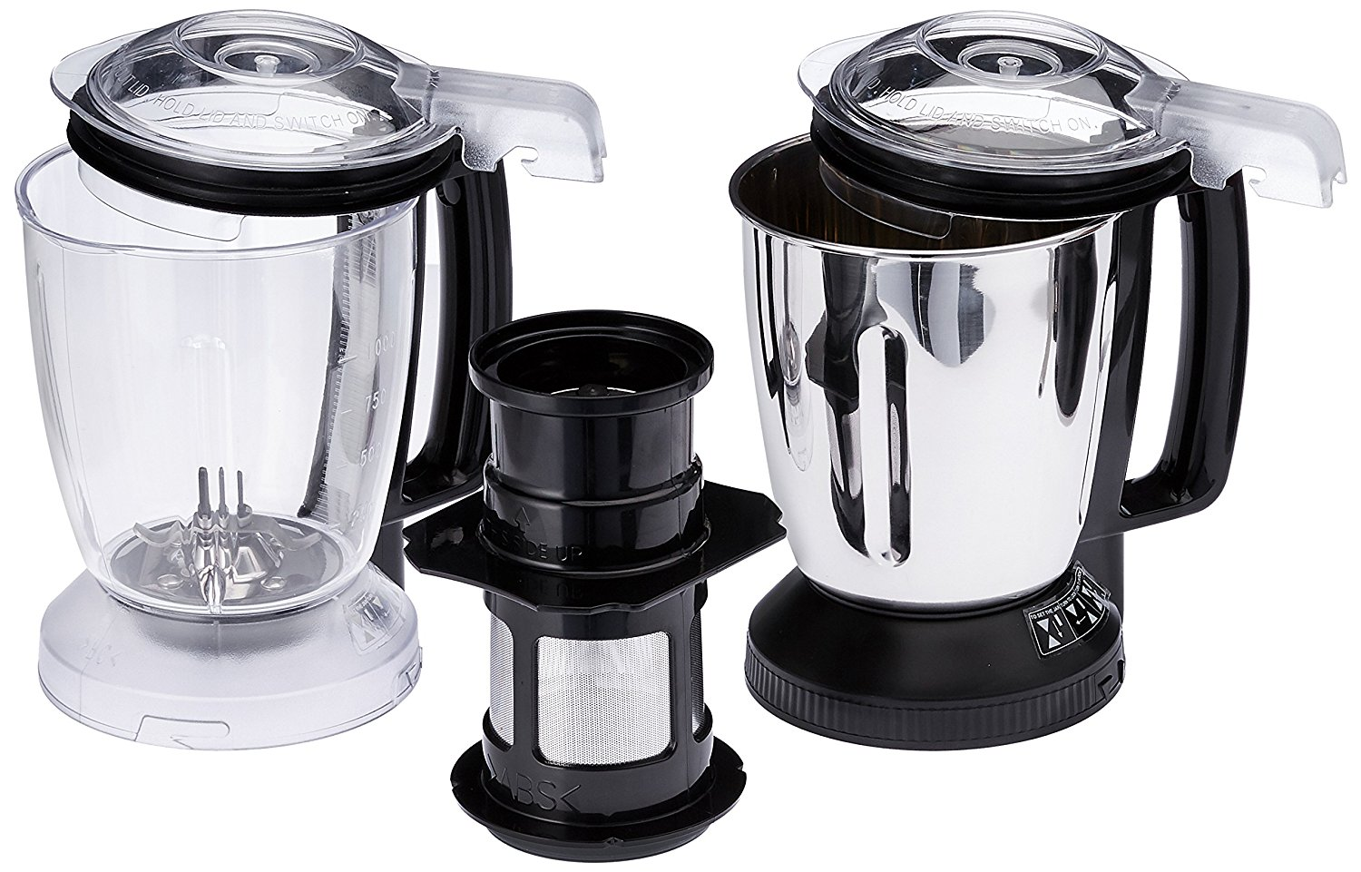 Panasonic MX-AC400 550-Watt 4-Jar Super Mixer Grinder Image
