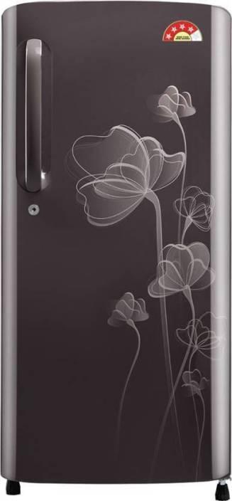 LG 190 L Direct Cool Single Door Refrigerator (GL-B201AGHL) Image