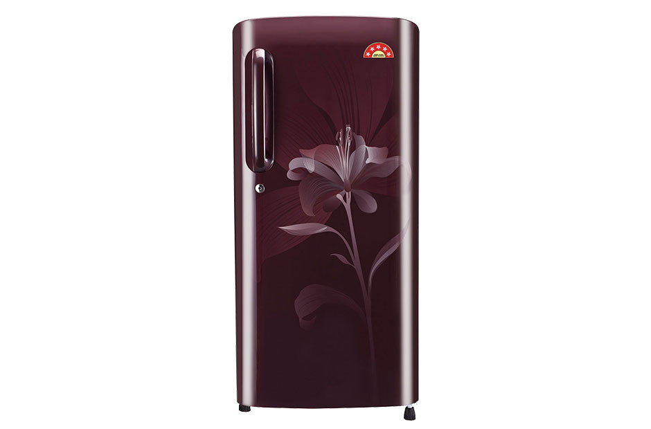 LG 190 L Direct Cool Single Door Refrigerator (GL-B201ASHI) Image