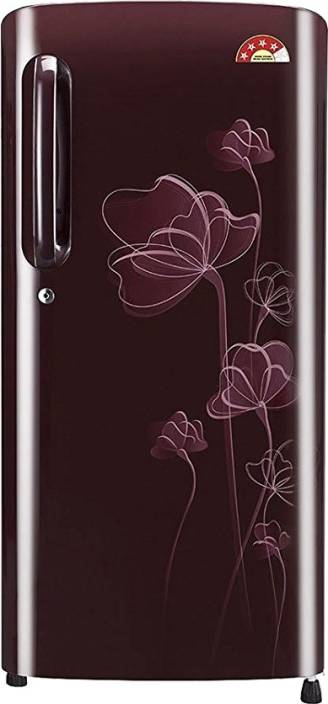 LG 190 L Direct Cool Single Door Refrigerator (GL-B201ASHL) Image