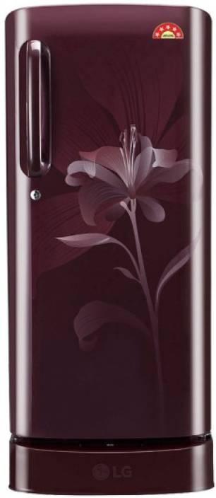 LG 190 L Direct Cool Single Door Refrigerator (GL-D201ASLI) Image