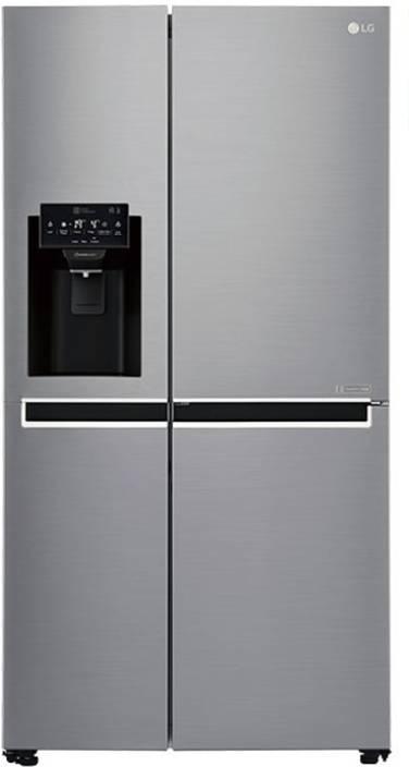 LG 668 L Frost Free Side by Side Refrigerator (GC-L247SLUV) Image