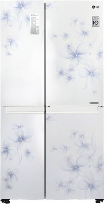 LG 687 L Frost Free Side by Side Refrigerator (GC-B247SCUV) Image