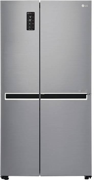 LG 687 L Frost Free Side by Side Refrigerator (GC-B247SLUV) Image
