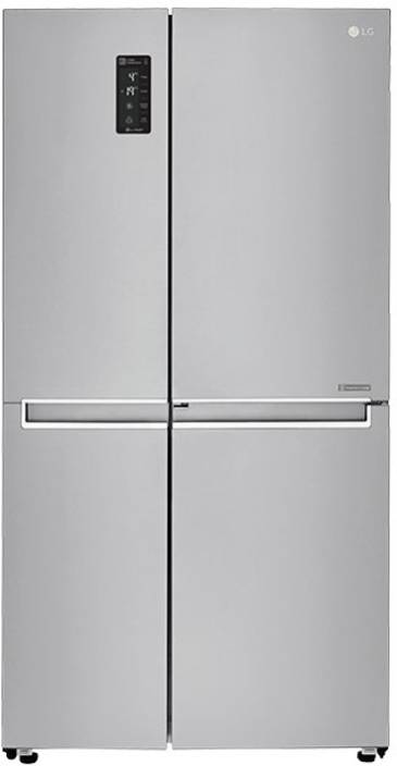 LG 687 L Frost Free Side by Side Refrigerator (GC-M247CLBV) Image