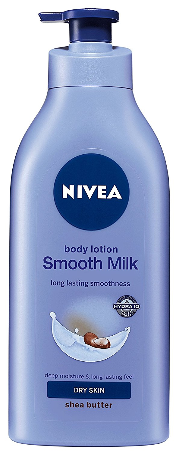 Nivea Smooth Milk Body Lotion For Dry Skin Image