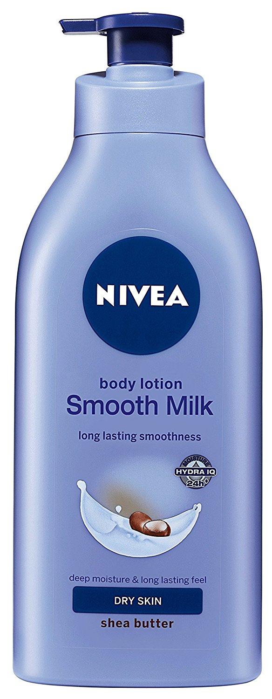 Nivea body lotion dry skin
