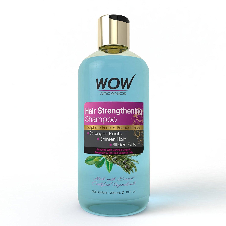 Wow Organics Hair Strenghtening Shampoo Image