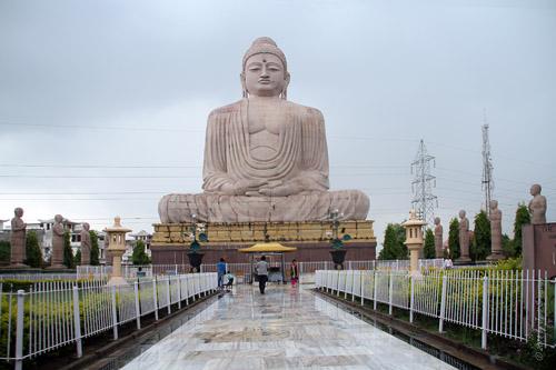 Great Buddha Statue - Bodhgaya Image