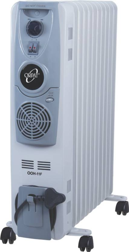 Orpat Ofr Ooh 11f With Fan Oil Filled Room Heater Reviews