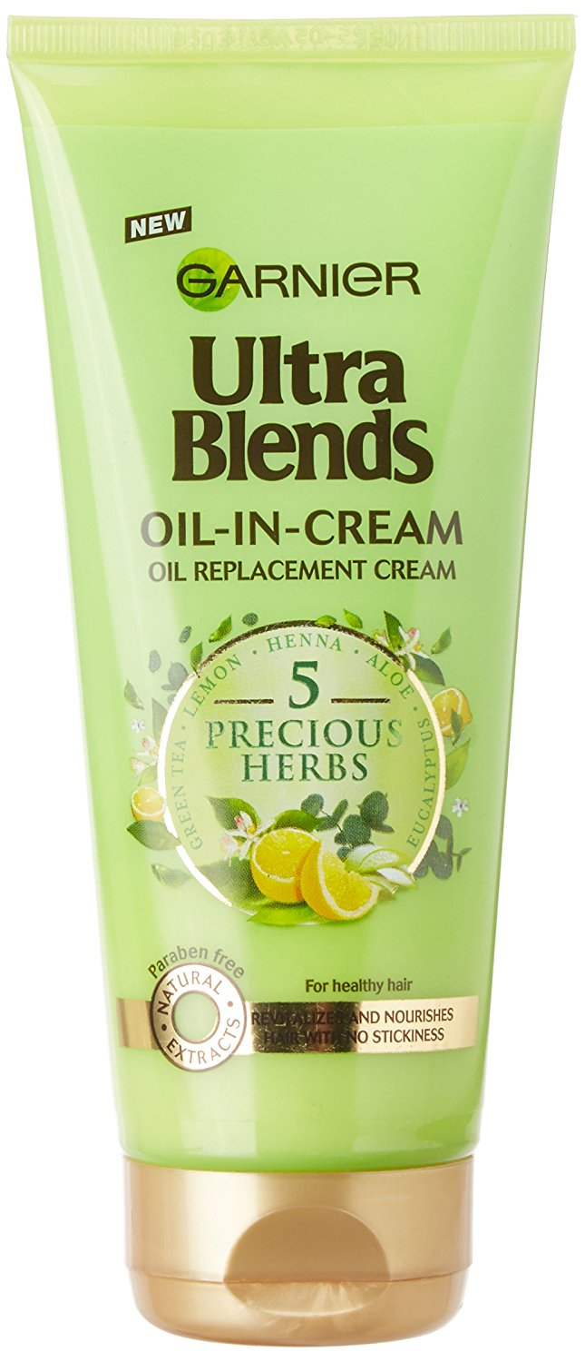 Garnier Ultra Blends 5 Precious Herbs Oil-in-Cream Image