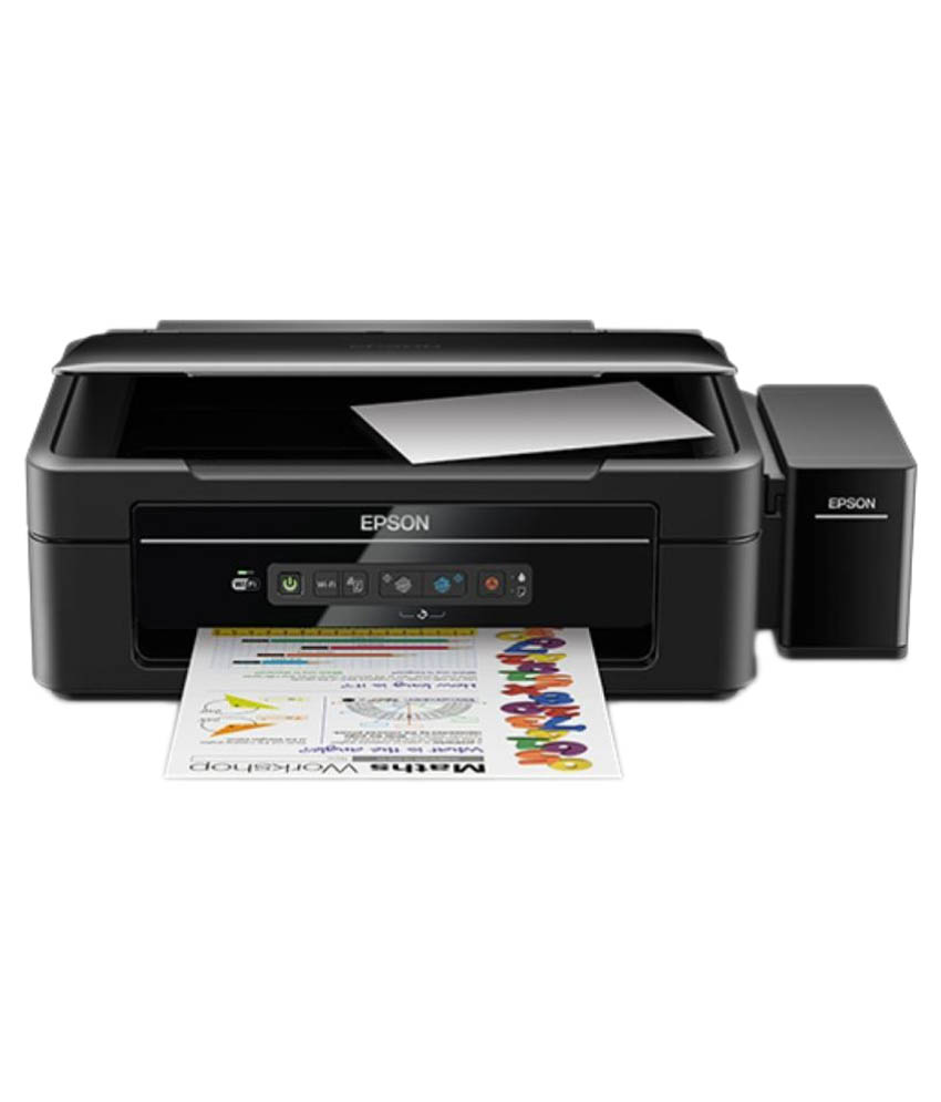 Epson L385 Multi Function Colored Inkjet Printer Image
