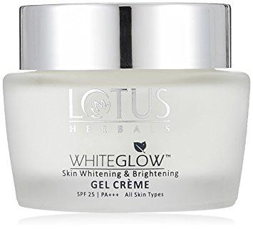 Lotus Herbals White Glow Skin Whitening & Brightening Gel Creme Image