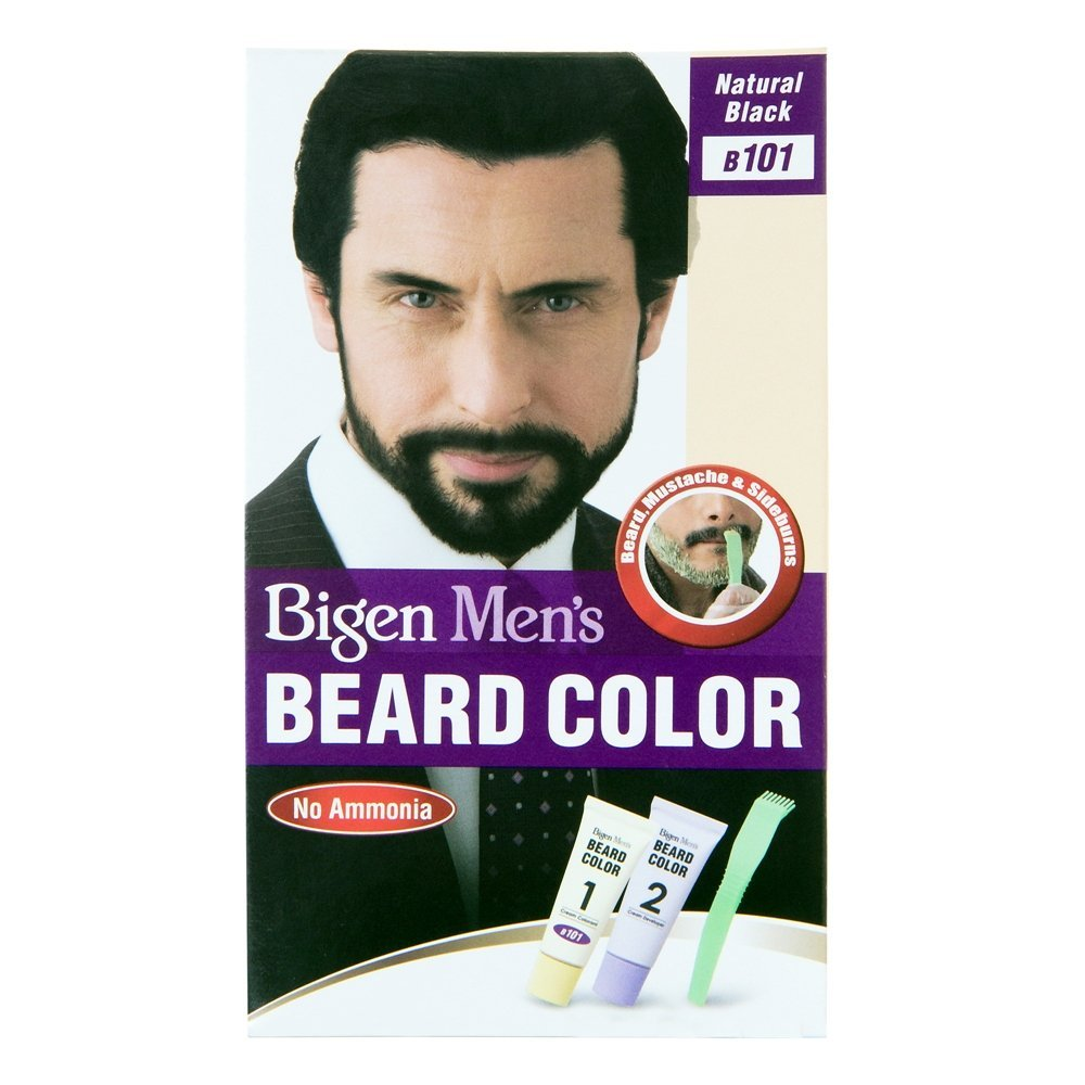 Men S Beard Hair Color Bigen Men S Beard Color Customer Review