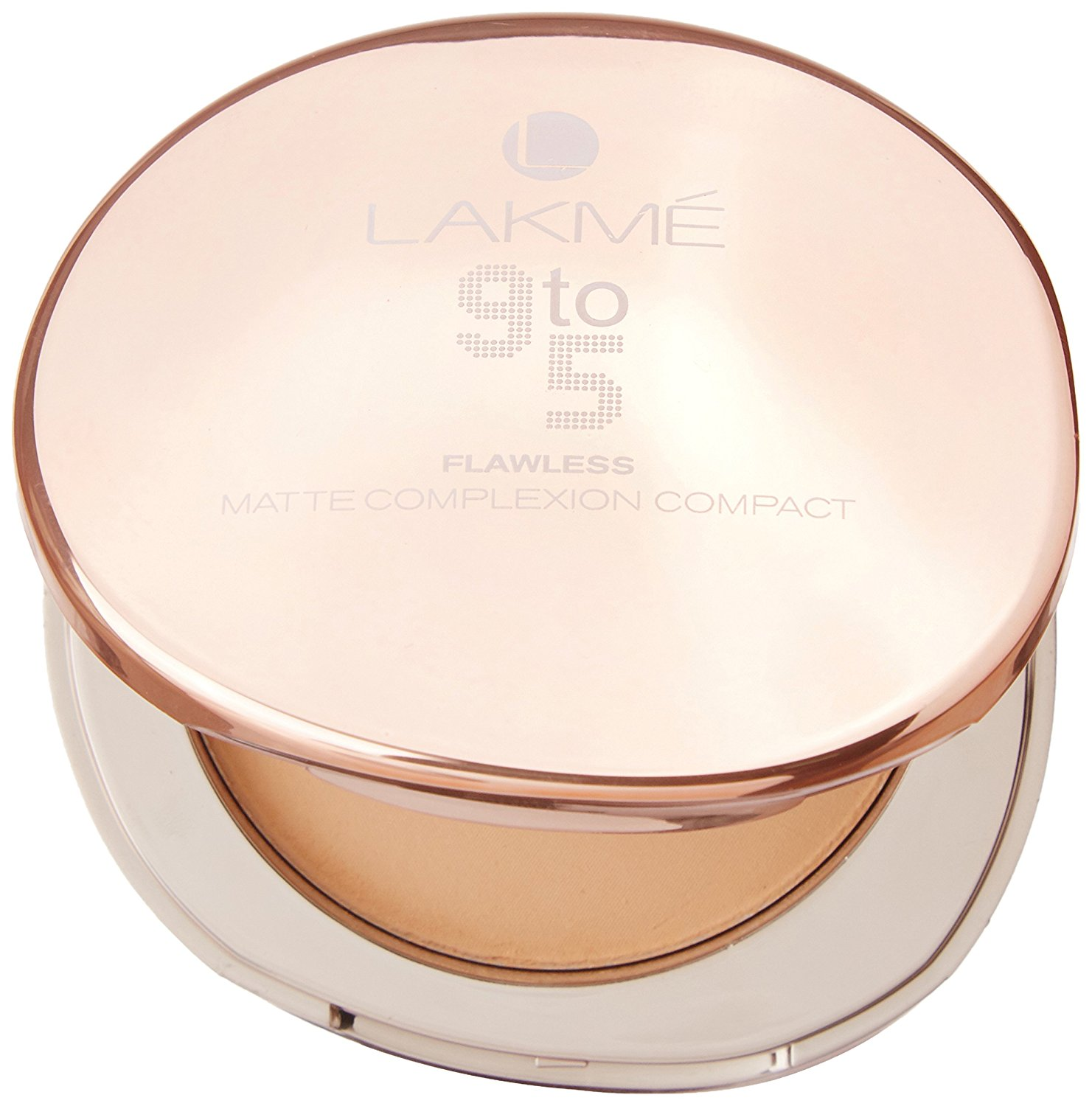 Fake title 9 to 5. Review on Lakme 9 to 5 Flawless Matte Complexion Compact