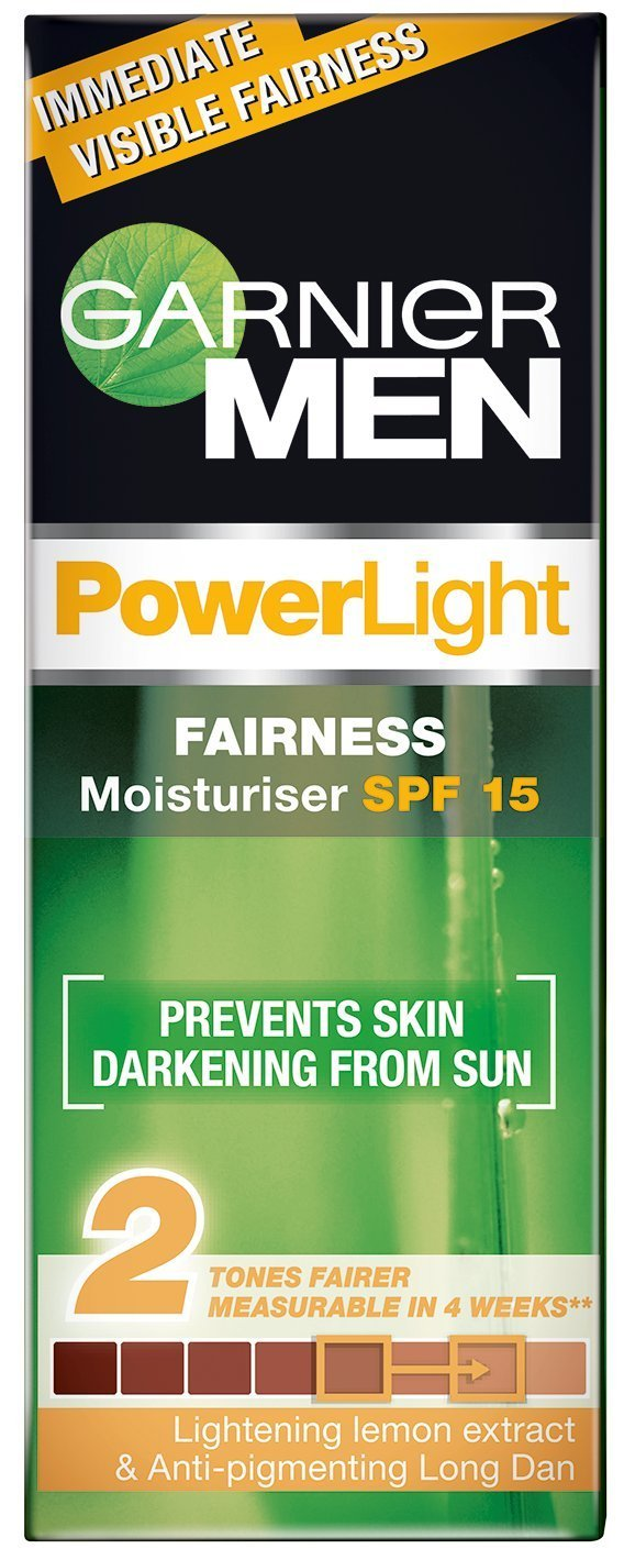 Garnier Men Power White Fairness Moisturiser SPF 15 Image