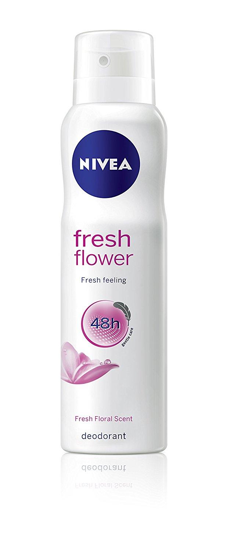 NIVEA FRESH FLOWER DEODORANT Review