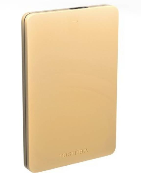 Toshiba Canvio Alumy 2 TB Wired External Hard Disk Drive Image