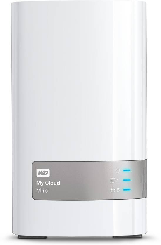 WD My Cloud Mirror 8 TB Wired External Hard Disk Drive Image