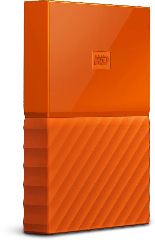 WD My Passport 1 TB Wired External Hard Disk Drive Image