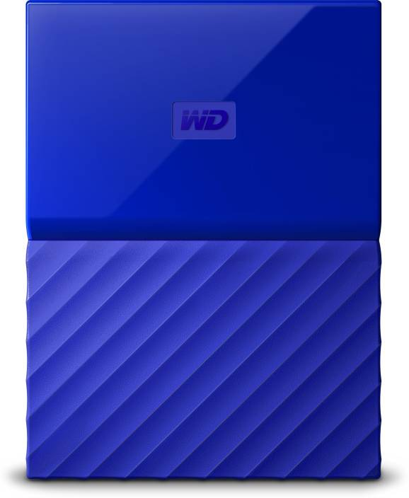 WD My Passport 2 TB Wired External Hard Disk Drive Image