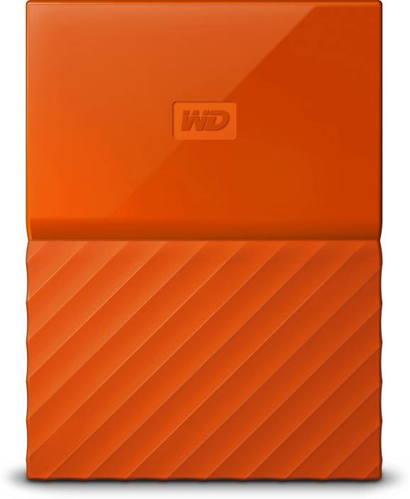 WD My Passport 4 TB Wired External Hard Disk Drive Image