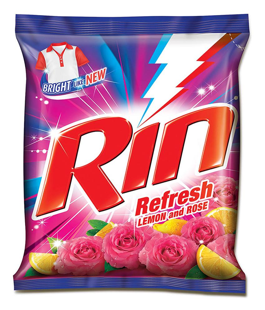 Rin Refresh Lemon & Rose Detergent Powder Image