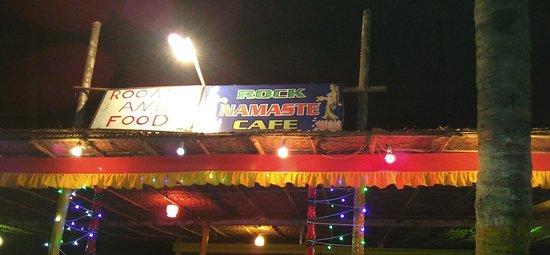 Rock Namaste Cafe - Kudle Beach - Gokarna Image