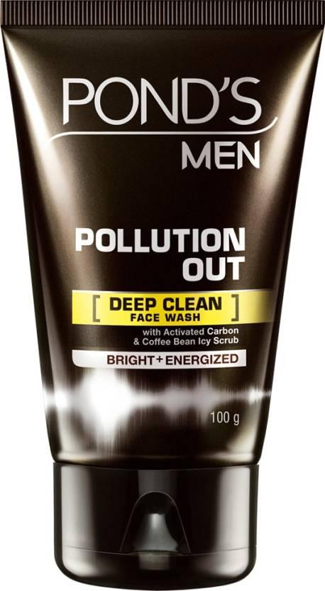 POND'S MEN POLLUTION OUT FACE WASH Review, POND'S MEN
