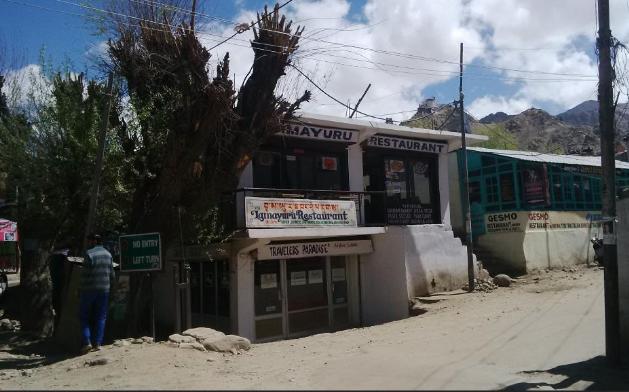 Lamayuru Restaurant - Fort Road - Leh Image