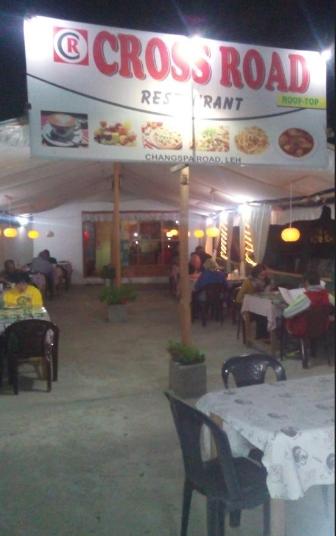 Crossroad Restaurant - Changspa Road - Leh Image