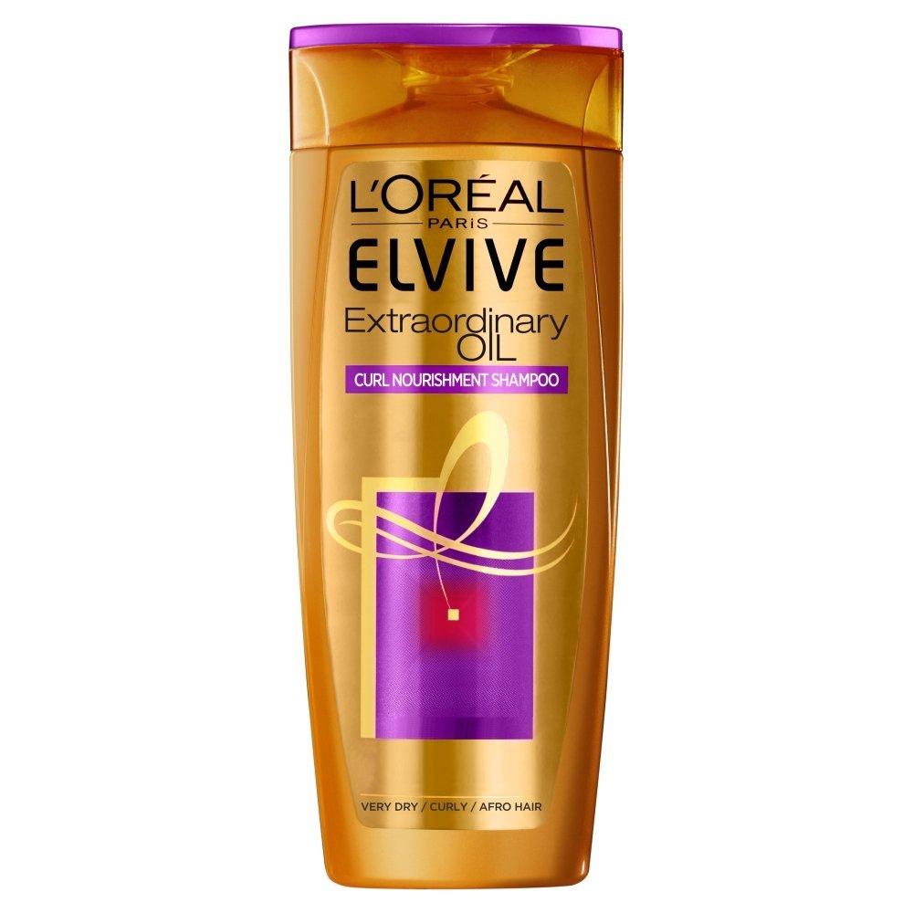 L'Oreal Paris Elvive Curl Nourishment Oil Shampoo Image