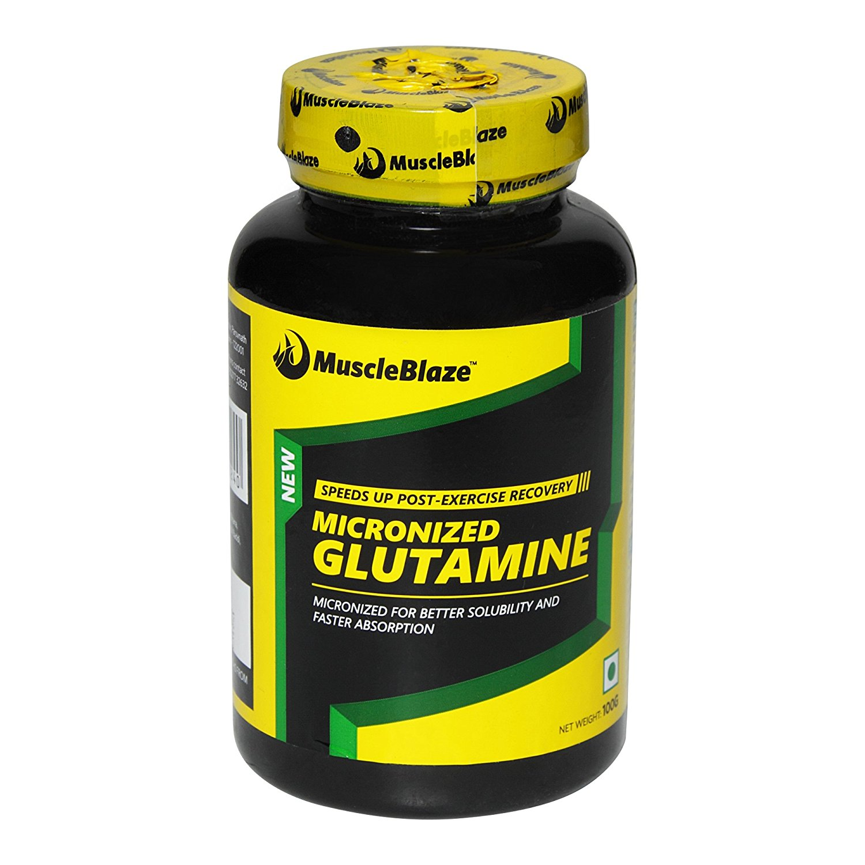 MuscleBlaze Micronized Glutamine Image