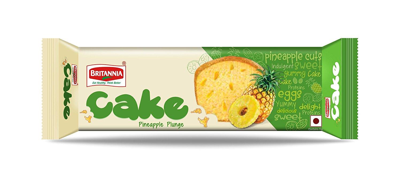 Britannia Pineapple Plunge Cake Image