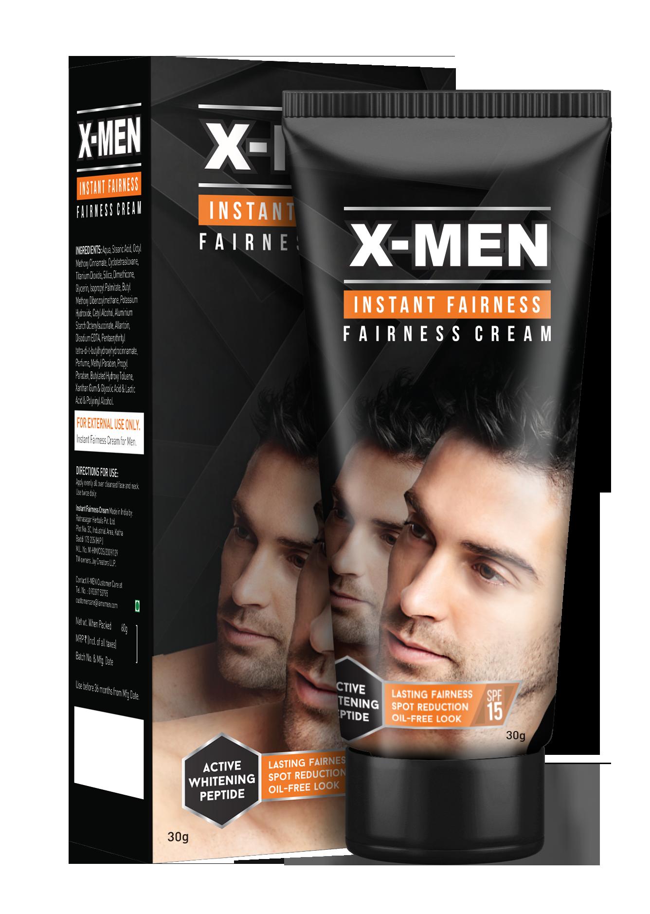 X-MEN Instant Fairness Cream Image