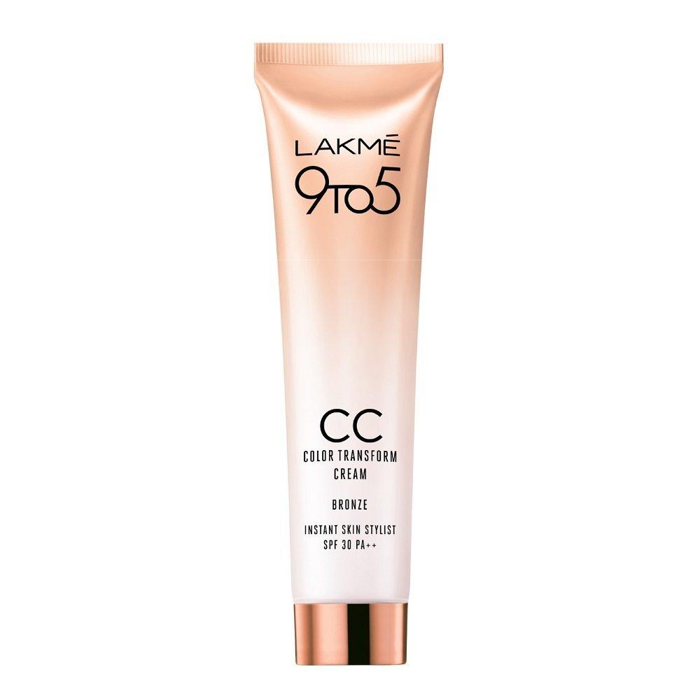 Lakme 9 To 5 Complexion Care Color Transform Cream Reviews -7232
