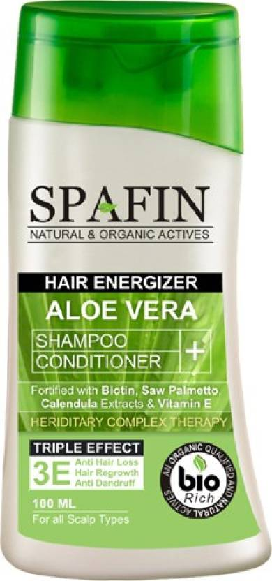 Spafin Hair Energizer Aloe Vera Shampoo + Conditioner Image