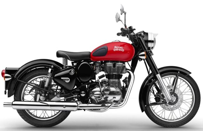 Royal Enfield Classic Redditch Image