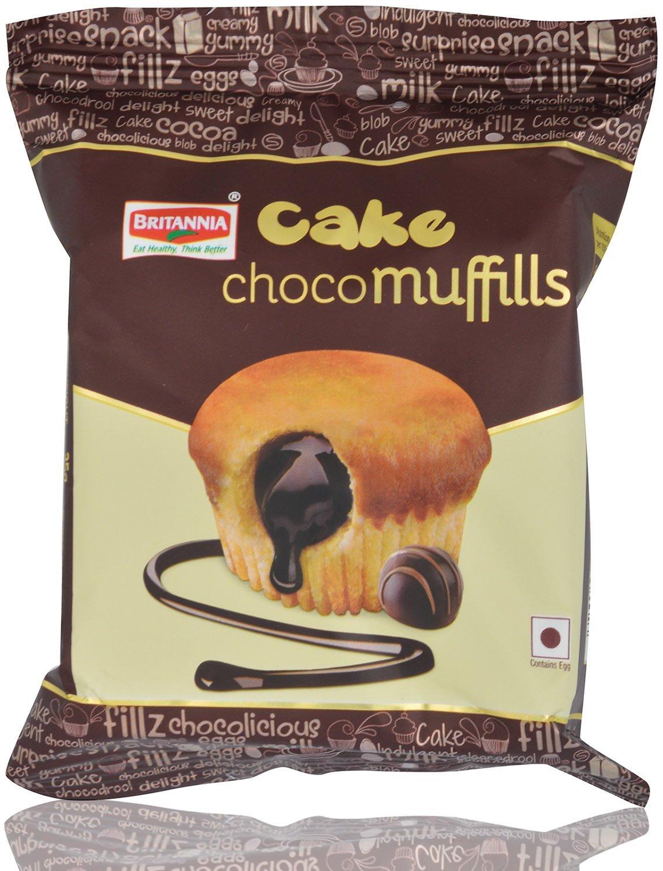Britannia Cake Choco Muffills Image