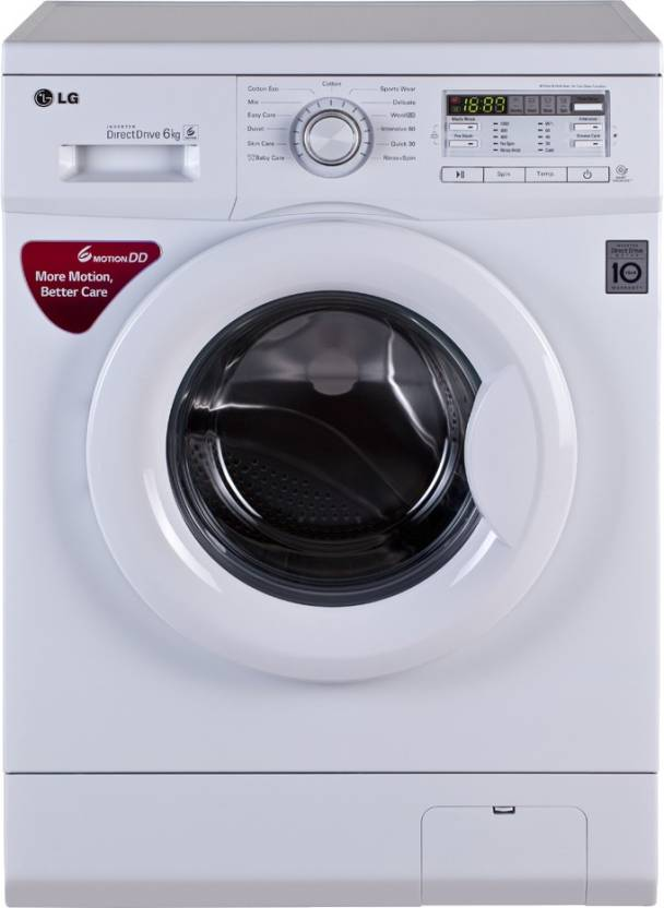 LG FH0B8NDL22 6 Kg Fully Automatic Front Load Washing Machine Image