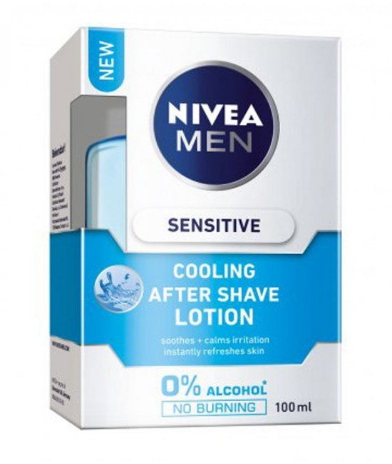 Nivea Men Sensitive Cooling After Shave Lotion Image