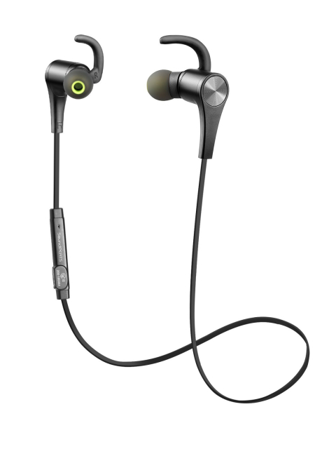 SoundPEATS Q12 Bluetooth Wireless Magnetic In-Ear Earphones Image