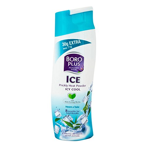 Boroplus Ice Prickly Heat Cool Powder Review