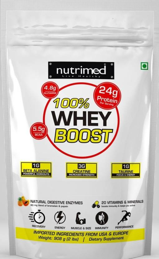 Nutrimed 100% Whey Boost Image