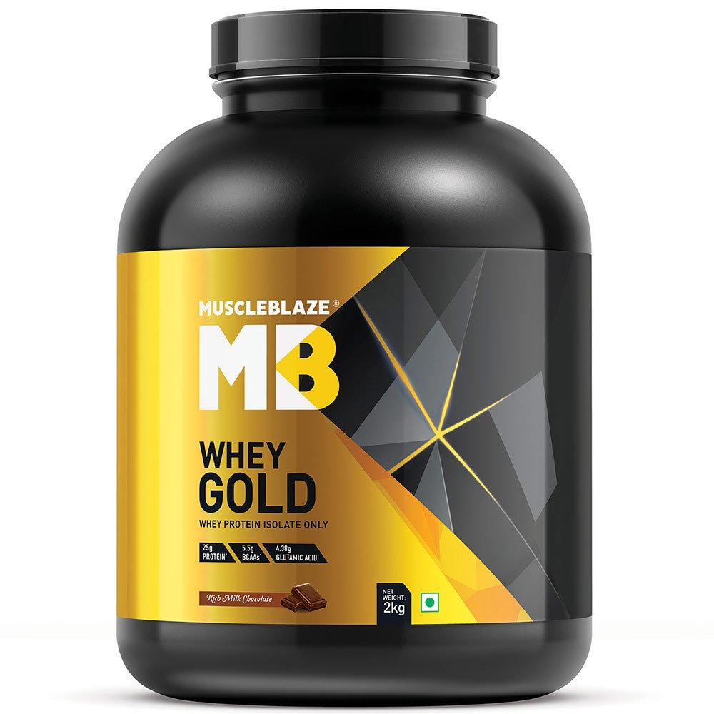 MuscleBlaze Whey Gold Image