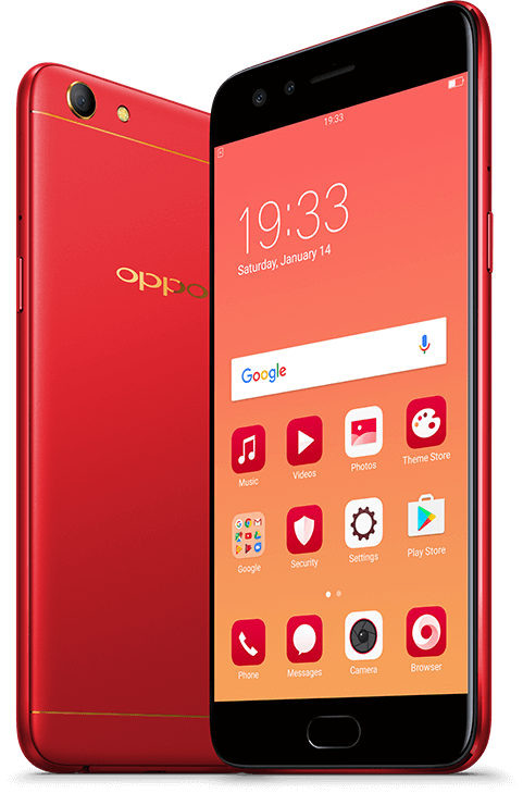 Oppo F3 Diwali Limited Edition Image