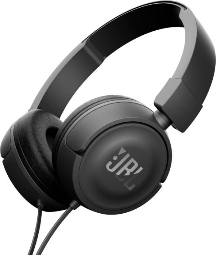 JBL T450 On-Ear Headphones Image